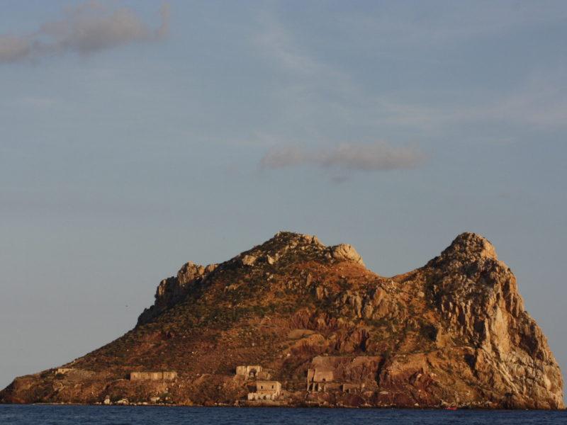 Isla del Fraile, cara OE, Águilas