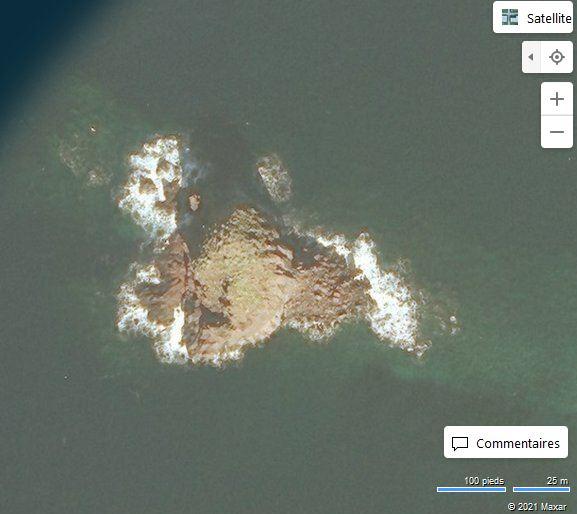 Scoglio Faraglione (Bing Maps)